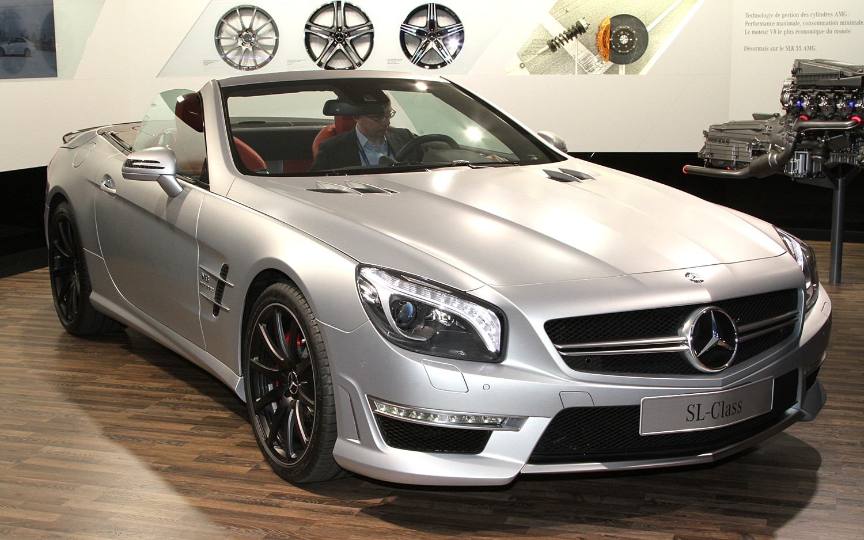 2013 MercedesBenz SL63 AMG First Look  Automobile Magazine