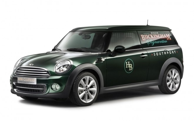 2013 Mini Clubvan Concept Front Three Quarters View1 660x413