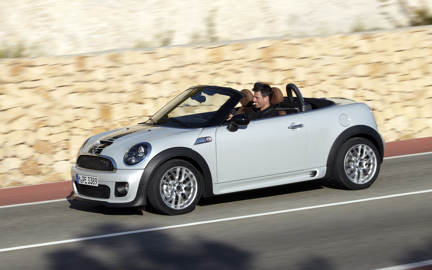 2013 Mini Roadster Side In Motion 2