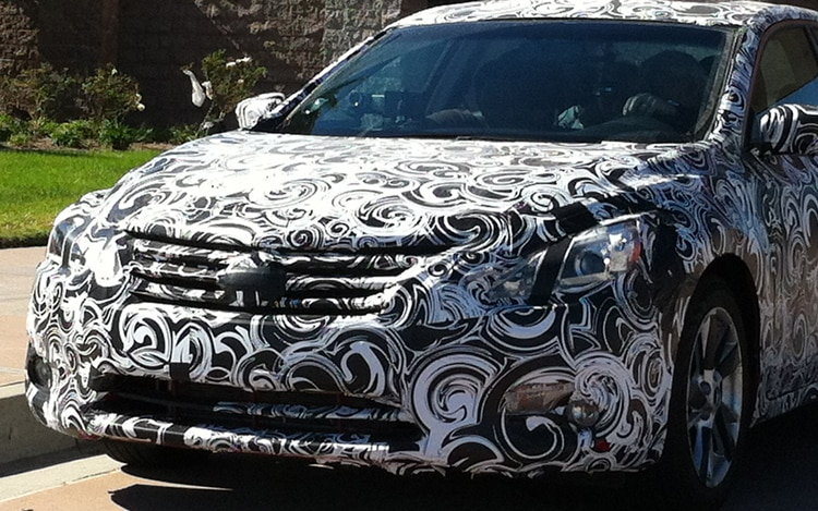 2013 Nissan Altima Spied Front