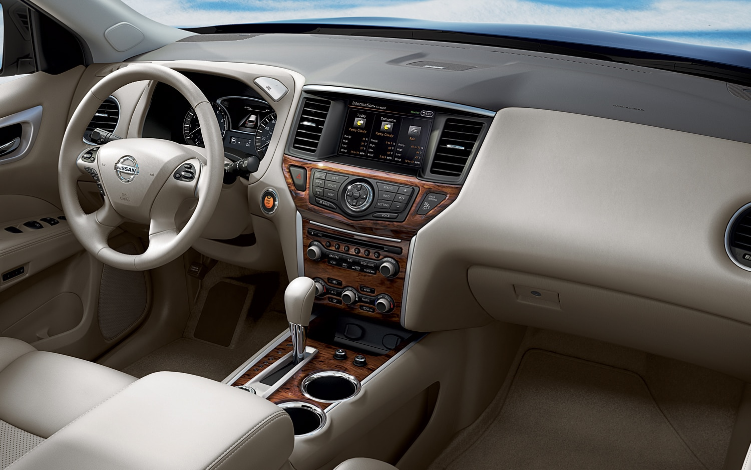 2013 nissan pathfinder interior revealed show more vanachro Image collections