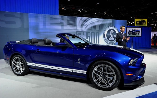 2013 Shelby GT500 Convertible Front Three Quarter1 660x413