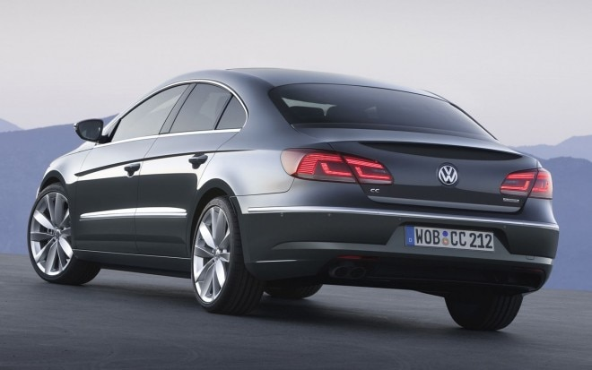 2013 Volkswagen CC Rear Three Quarters1 660x413