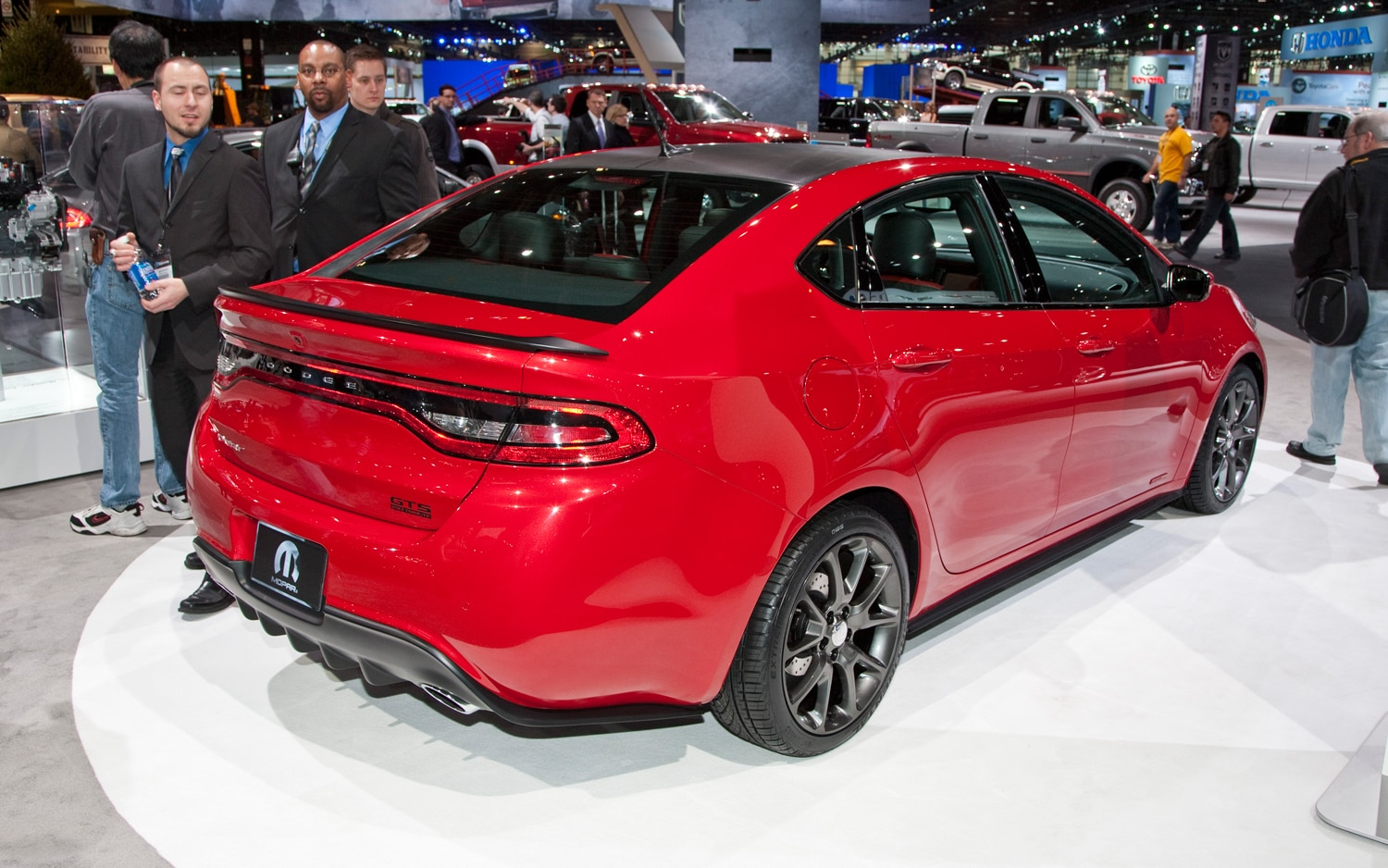 2013 Dodge Dart GTS 210 Tribute Rear Right View1