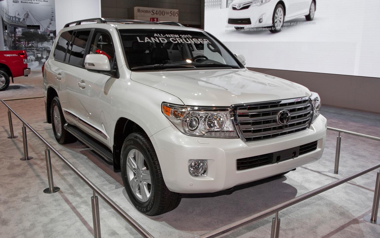 2013 Toyota Land Cruiser First Look 2012 Chicago Auto