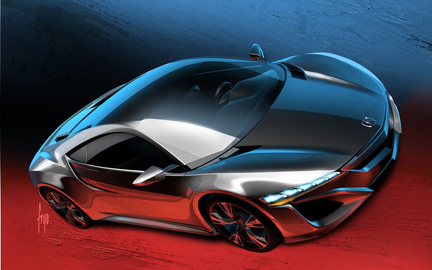 accurate execution sketches of 2015 acura nsx concept. Black Bedroom Furniture Sets. Home Design Ideas