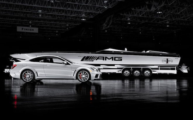 mercedes benz amg unveils new boat inspired by c63 black series