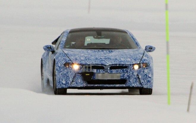 BMW I8 Spy Shots AMAG 660x413