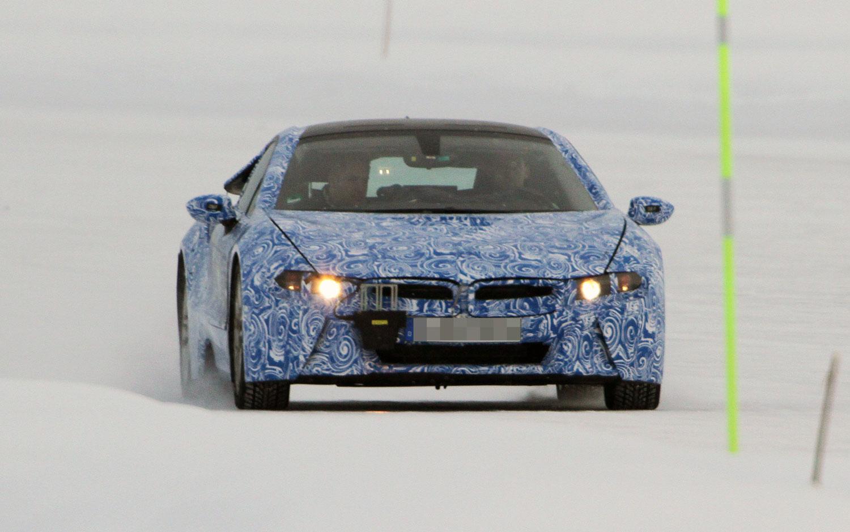 BMW I8 Spy Shots AMAG