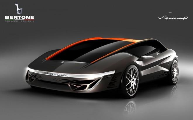 Bertone Nuccio Concept Front Three Quarter1 660x413
