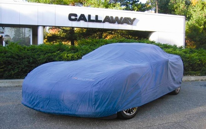 Callaway 25th Anniversary Corvette Under Cover1 660x413