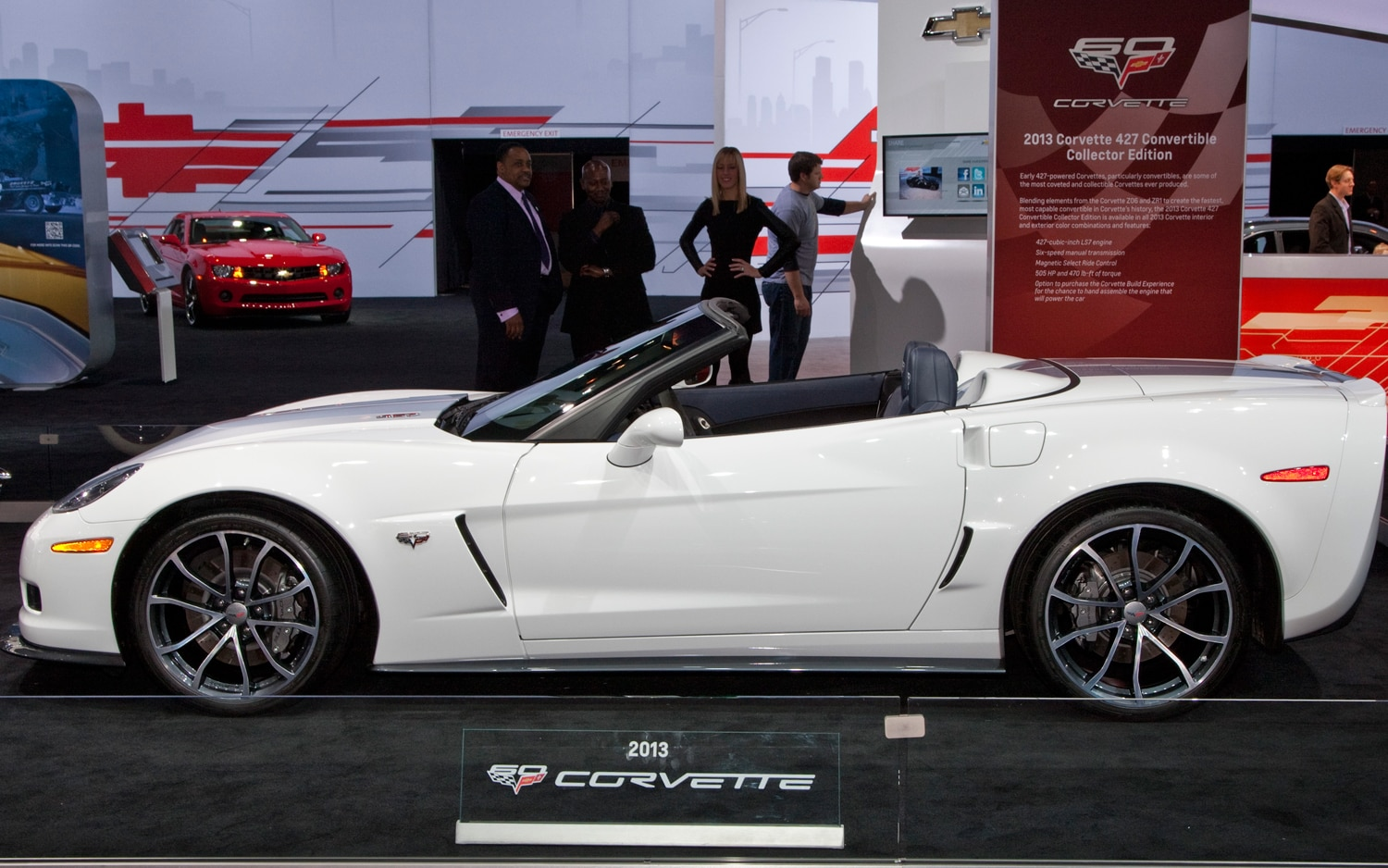 First Look Corvette 427 Convertible Collector Edition