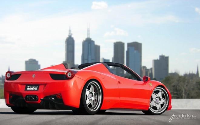 Ferrari 458 Spider With HRE Wheels1 660x413