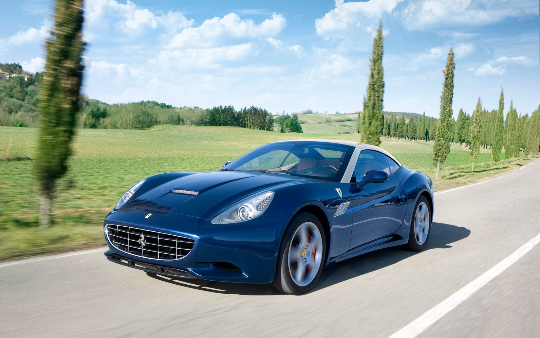 Ferrari California Blue Top Up1