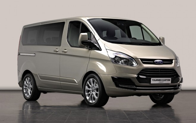 Ford Tourneo Custom Concept Front Three Quarter 660x413