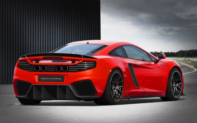 Hennessey McLaren MP4 12C Rear1 660x413