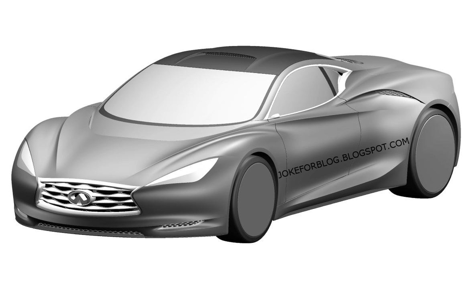 Infiniti Emerg E Concept Leak Front Three Quarter1