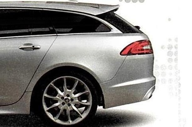 Jaguar XF Sportbrake Left Rear Side1