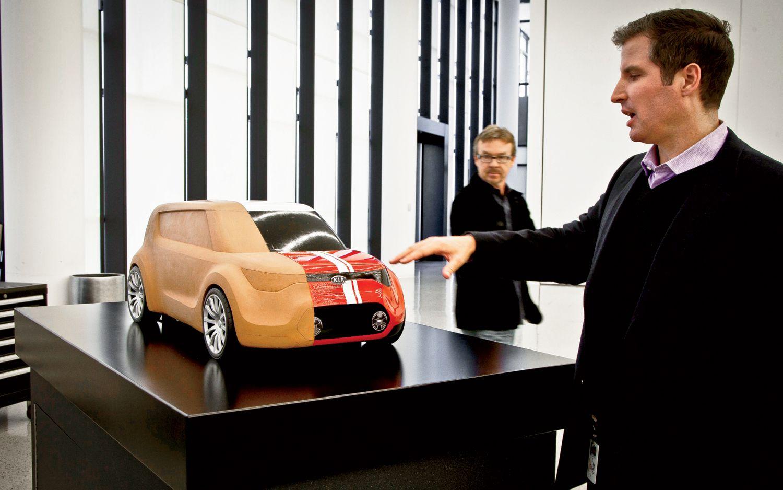 Kia Trackster Concept Quarter Scale Clay Model1