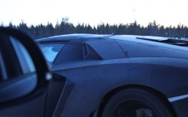 Lamborghini Aventador Roadster Spied AMAG 660x413