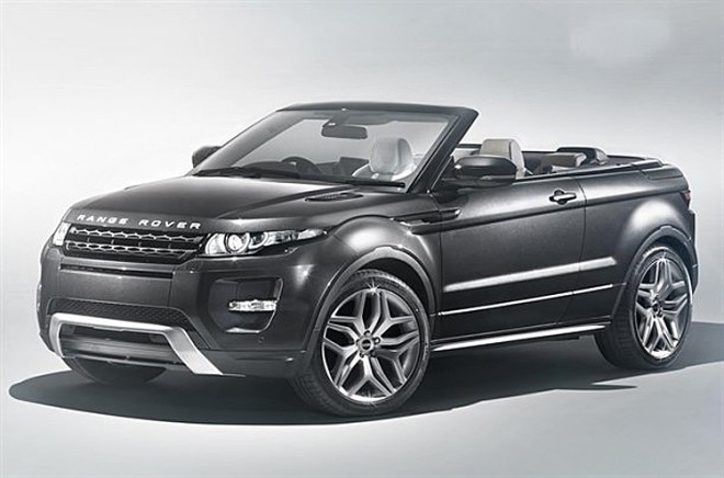 Land Rover Range Rover Evoque Convertible Front Three Quarter11 660x436