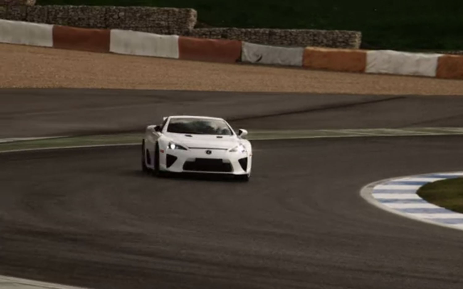 Lexus LFA At Estoril Front Three1