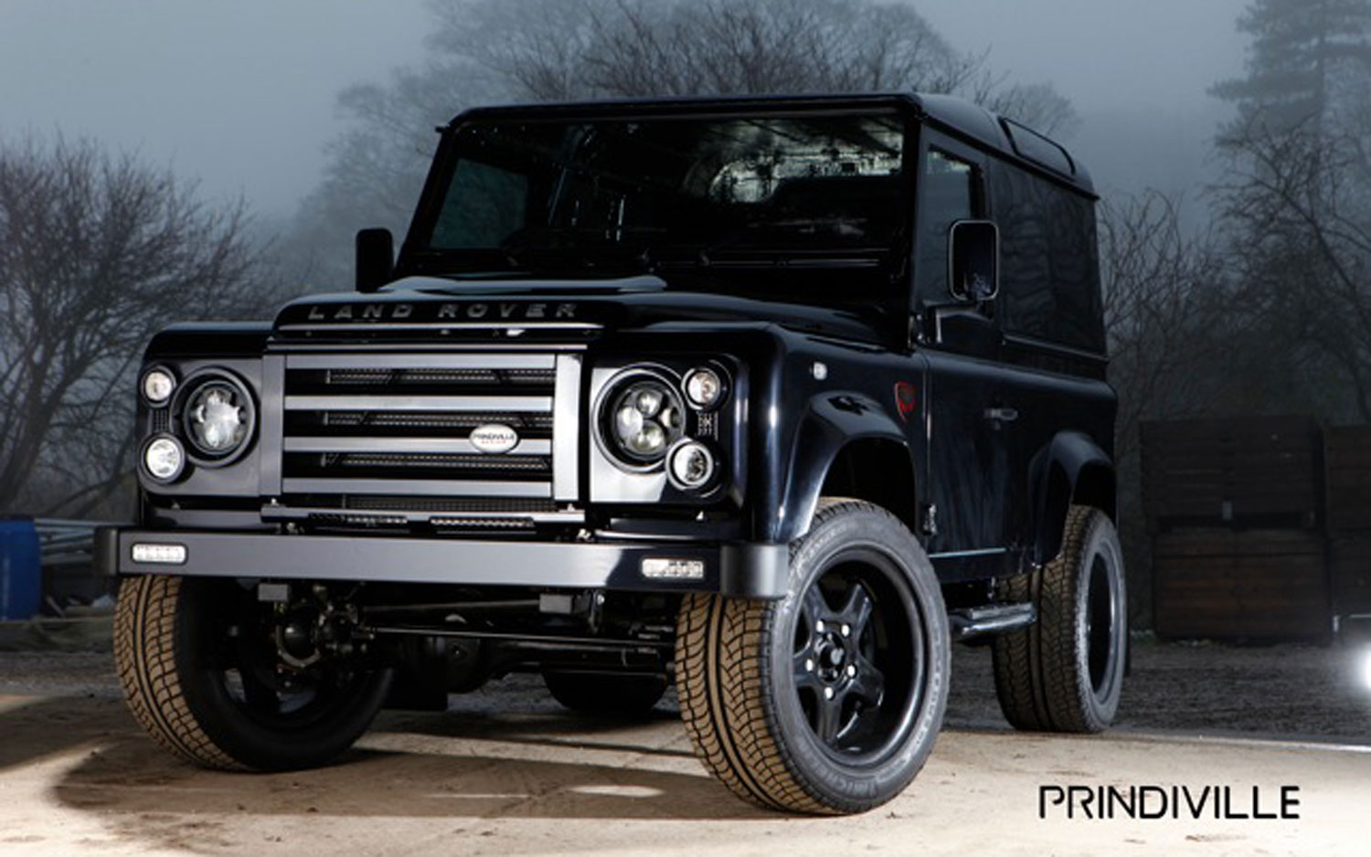 Limited Edition Land Rover Defender By Prindiville Design
