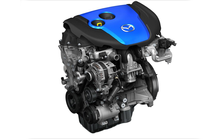 Mazda Skyactiv D Engine