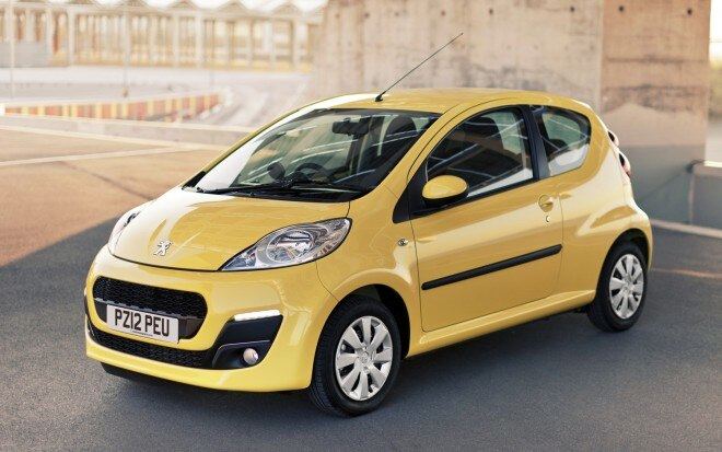Peugeot 107 Front Three Quarter1 660x413
