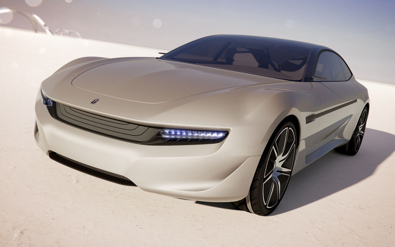 Pininfarina Cambiano Concept Front View1