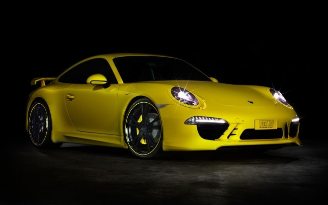 Techart Porsche 911 Front Three Quarter1 660x413
