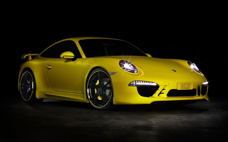 Techart Porsche 911 Front Three Quarter1