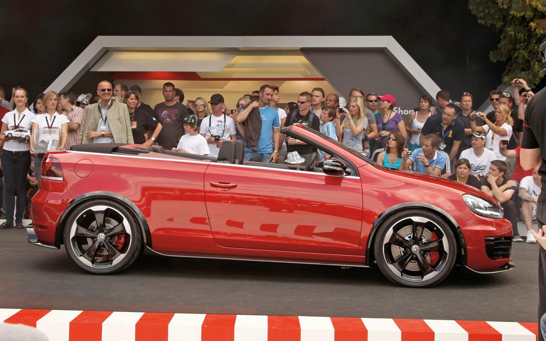 Volkswagen GTI Cabriolet Concept Profile1