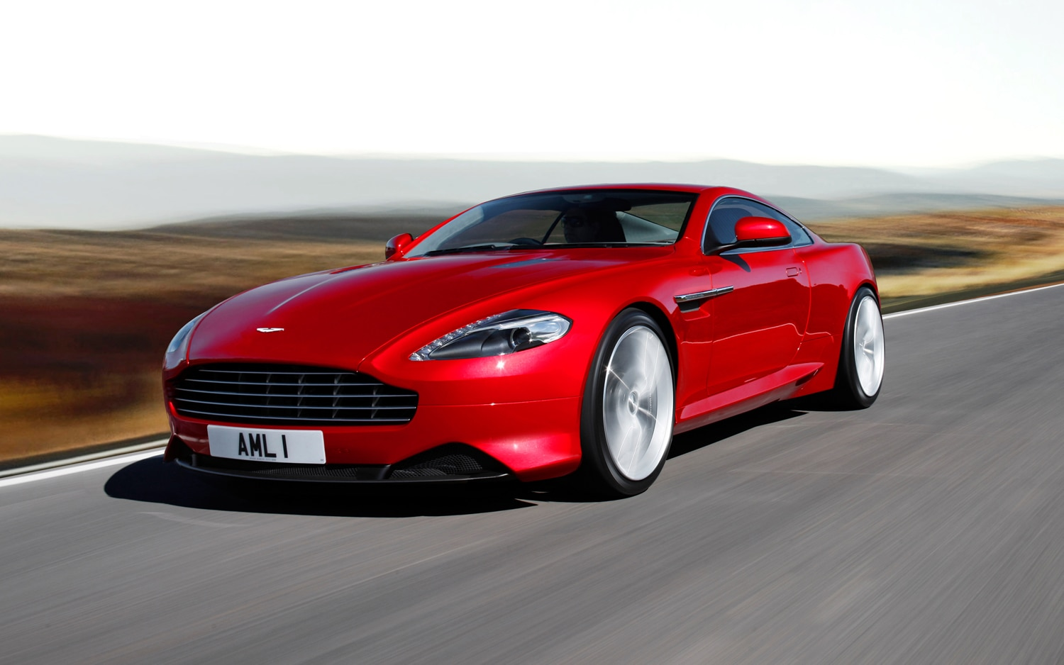 Aston Martin Front Left View1