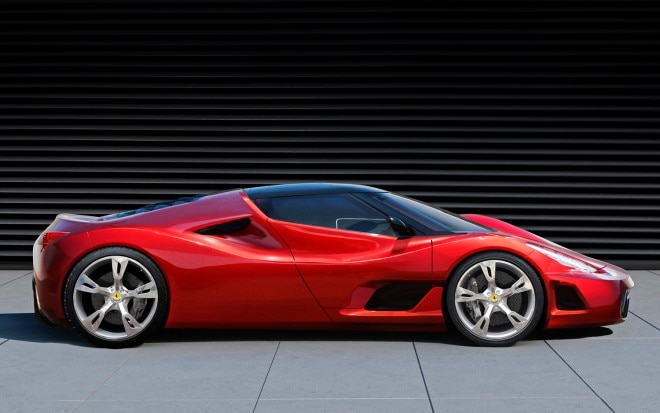 Ferrari Right Side View1 660x413