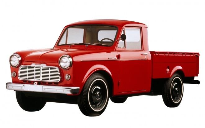 1960 Datsun 1200 Pickup Front Three Quarter1 660x413