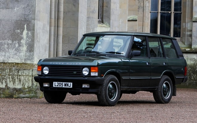 1995 Land Rover Range Rover Classic Front Three Quarter 660x413