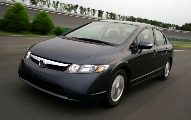 2006 Honda Civic Hybrid Front Three In Motion1 660x413