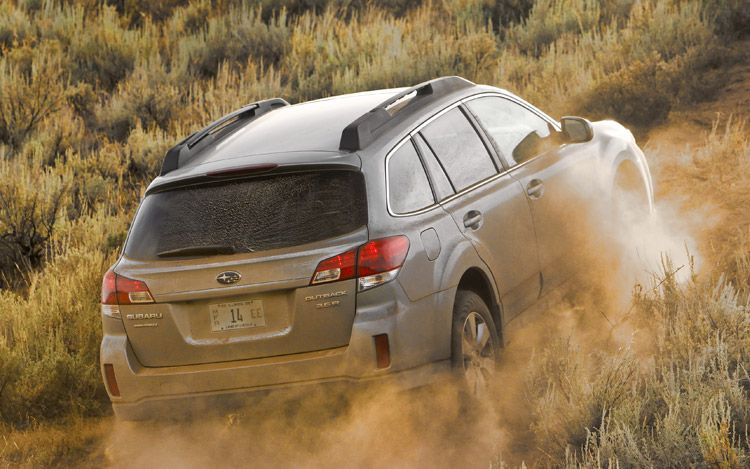 2010 Subaru Outback Rear1
