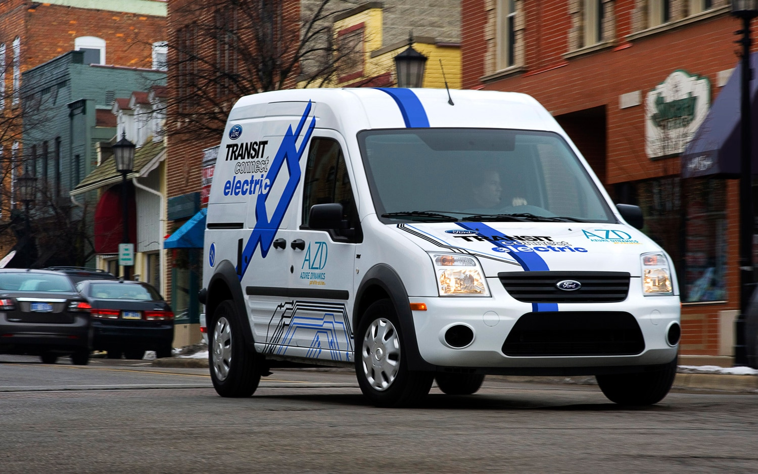 2011 Ford Transit Connect Electric Front Three Quarter1