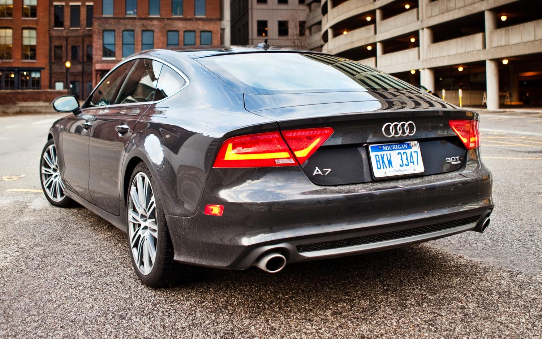2012 Audi A7 Rear Promo