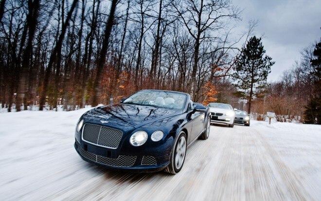 2012 BMW 650i XDrive 2013 Bentley Continental GTC And 2012 Audi A5 Quatrro Front View1 660x413