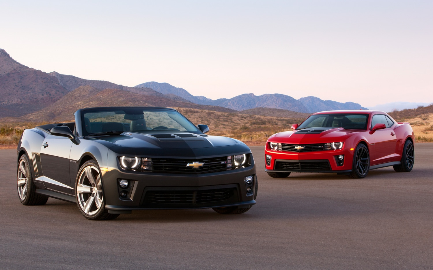 2012 Chevrolet Camaro ZL1 Coupe And Convertible1