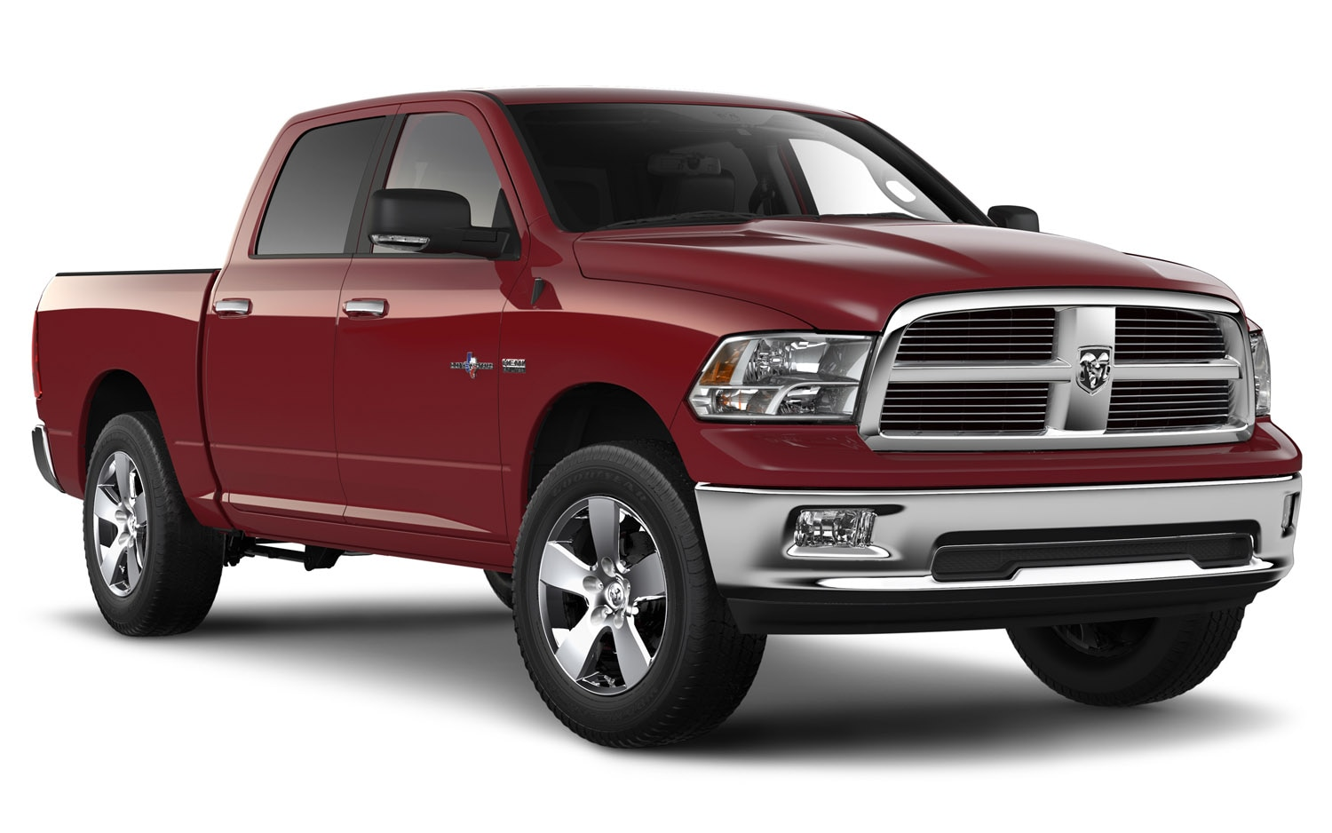 2012 Dodge Ram Lone Star 10th Anniversary Front Three Quarter1