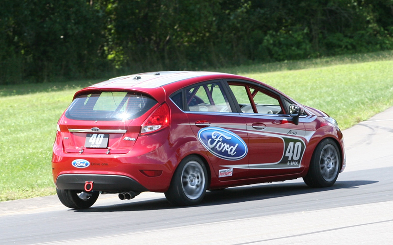ford racing announces b spec parts kit for ford fiesta. Black Bedroom Furniture Sets. Home Design Ideas