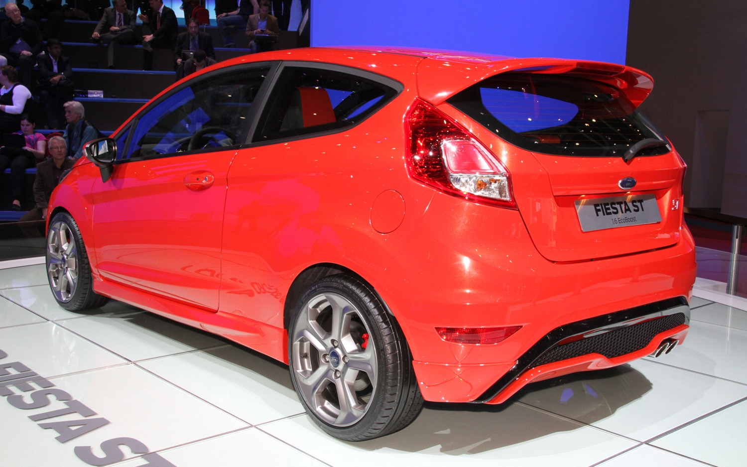 2012 Ford Fiesta ST Production Model Rear Three Quarters1