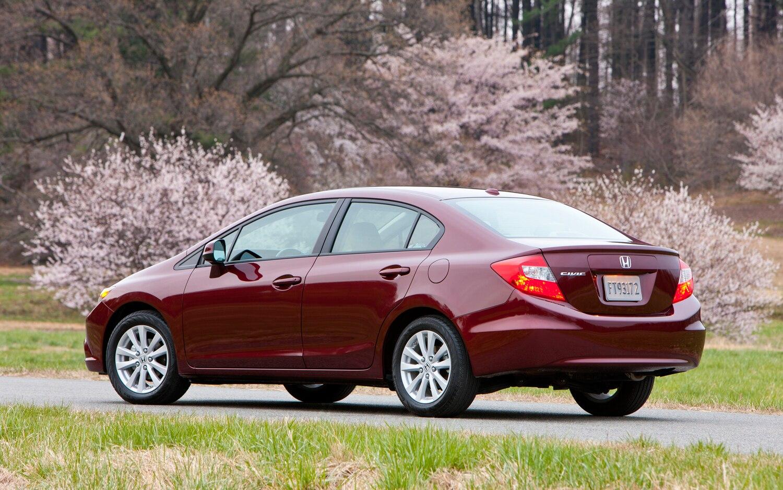 2012 Honda Civic Sedan Rear View1