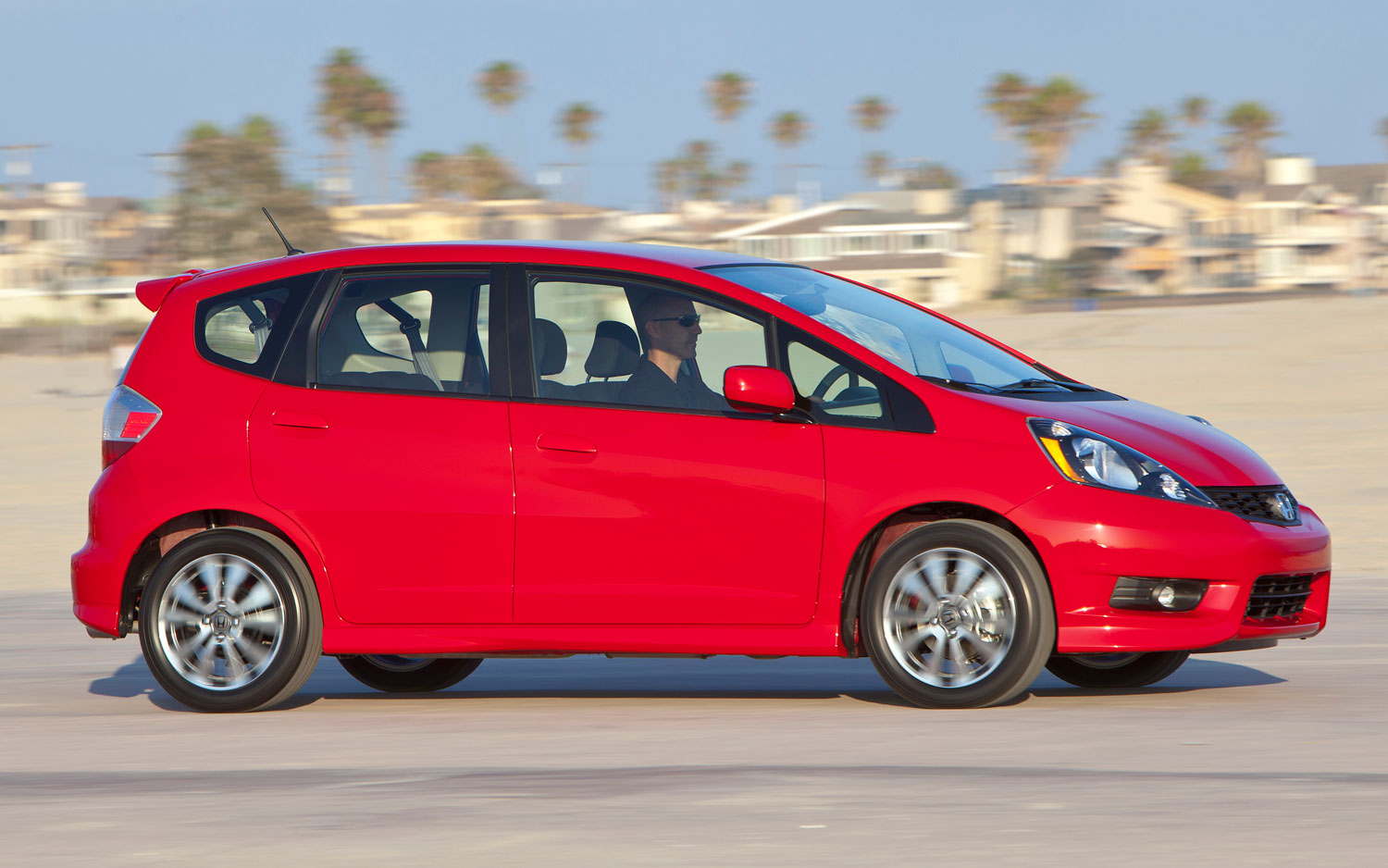 2012 Honda Fit Sport Side View1