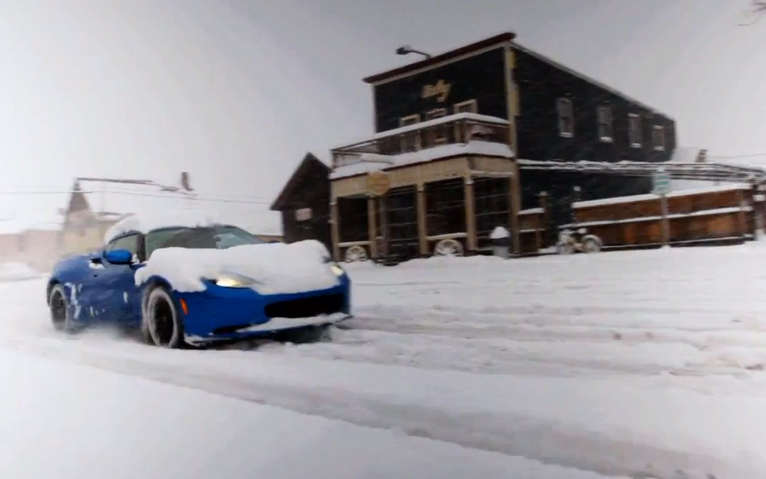 2012 Lotus Evora S Epic Drive In Snow