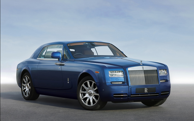 2012 Rolls Royce Phantom Coupe Front Three Quarter1